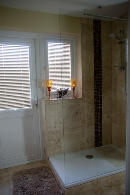 This is a guest bathroom and is for your use whilst you stay.  It is has just been refurbished.  The bathroom is on the ground floor.