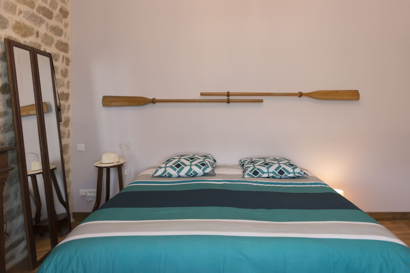 """Chambre """"Biz-Nort"""" pour 2 à 3 personnes dans maison d'hôtes, Comme à la BreiZHon"""