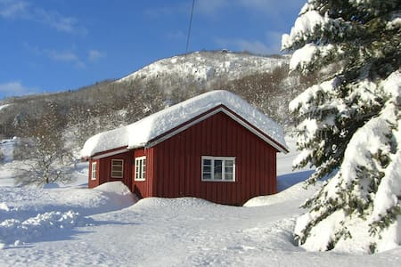 Hägerstugu - i gårdstun på fjellet - Hovet - Blockhütte