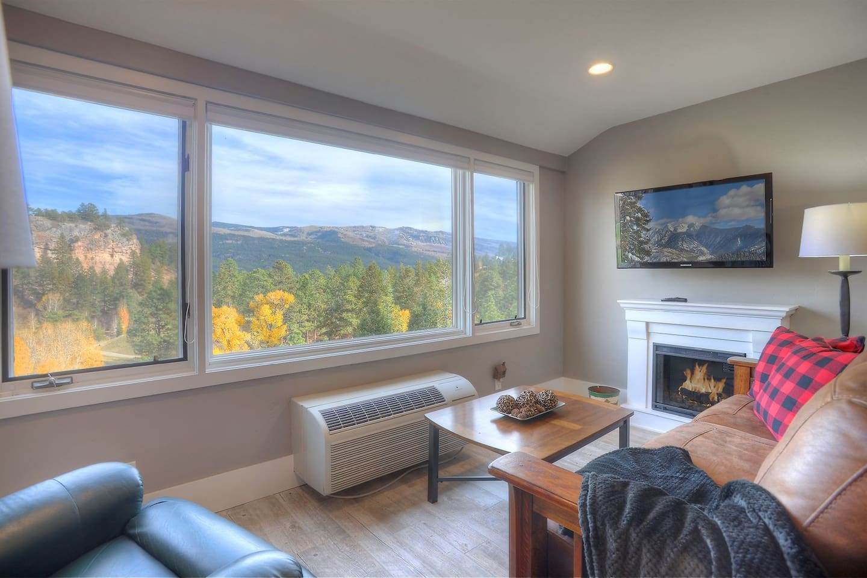 Vacation rental condo at Tamarron Lodge between Durango Colorado and Purgatory Resort
