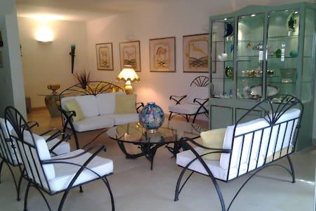 Location saisonnière villa pour 12 adultes vue mer - Netanja - Villa