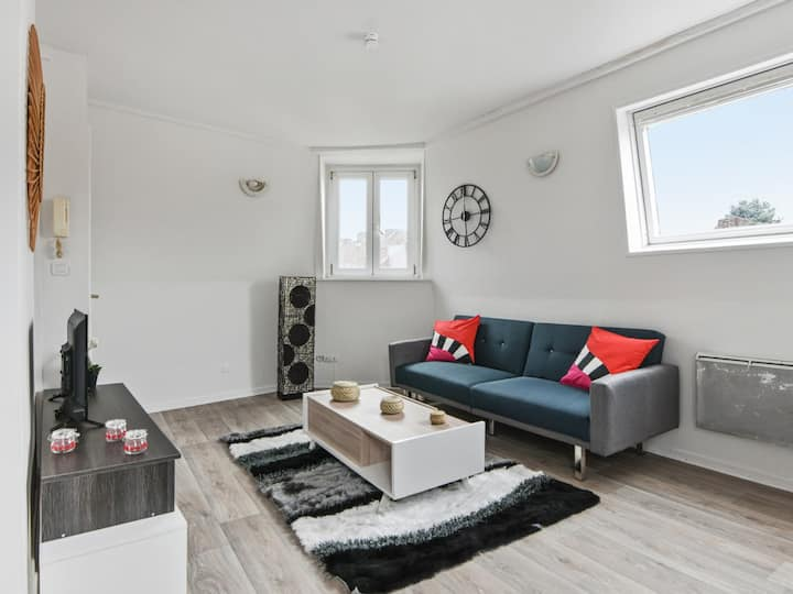 Nice and modern flat between Lille and Roubaix, in Croix - Welkeys