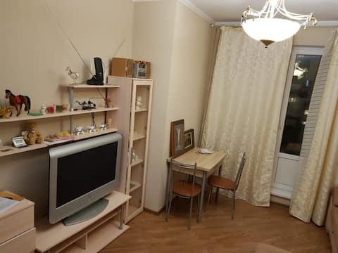 Studio 1 min from Chkalovskaya RAILWAY station, Shchelkovo 5