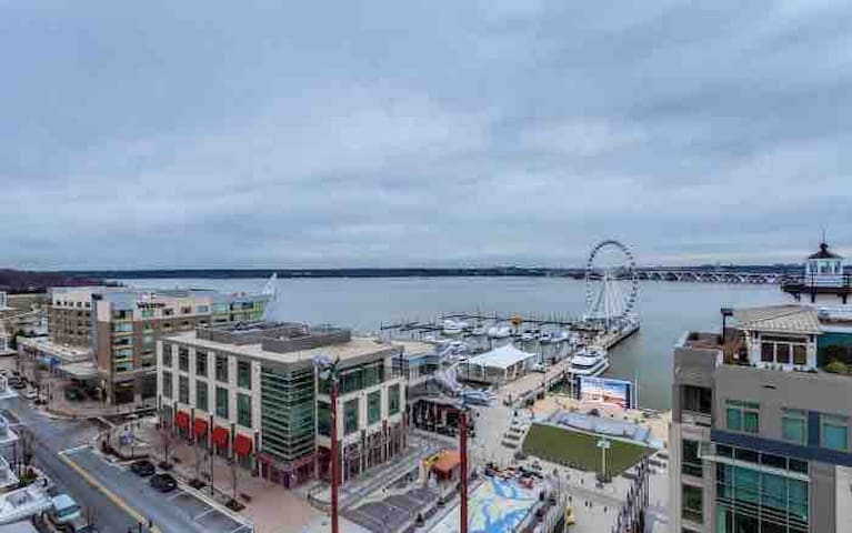 Beautiful Chic 1 Bdrm + Den @ The National Harbor