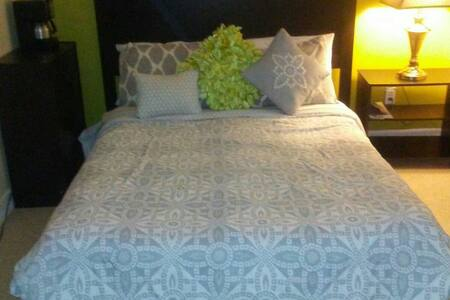 cozy, quiet and charming bedroom - Bronx  - Daire