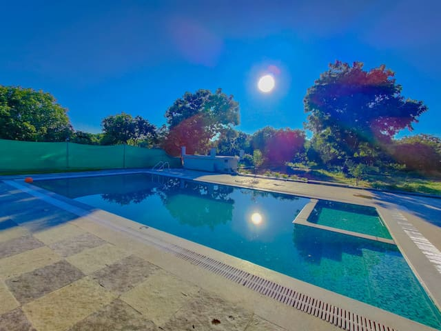 Farm House near Hyderabad with Swimming Pool!