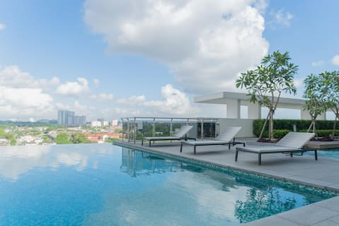 Premium 1BR Homestay in Johor-Bahru, Well-Equipped