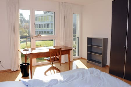 Lovely, large, bright and quiet room (#3) - Adliswil - Townhouse
