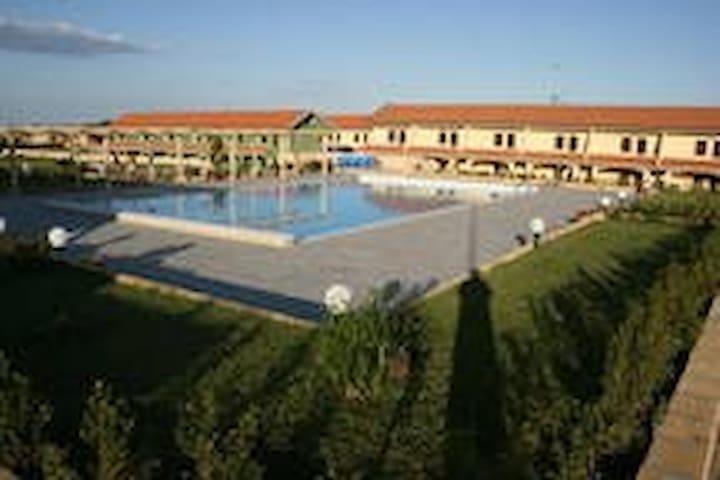 residence con piscina 200m dal mare (4) - borgia - Apartamento