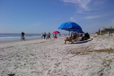 HOME AWAY FROM HOME AT THE BEACH!