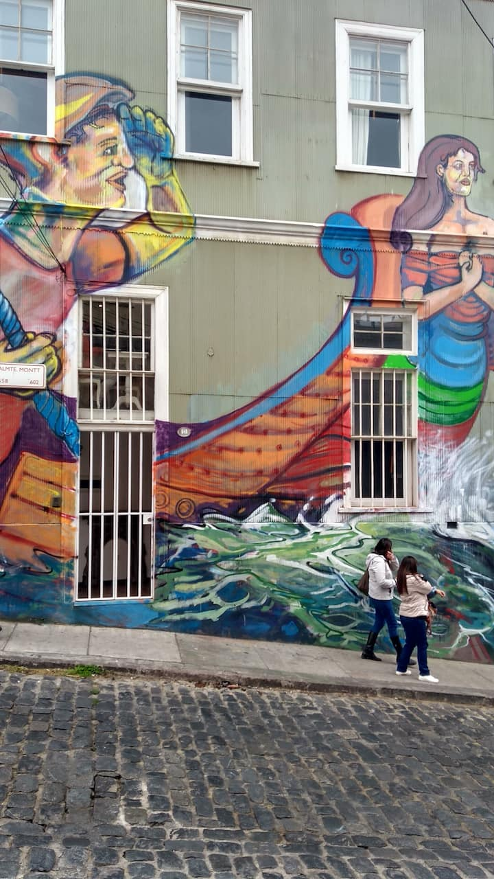 Graffities de Valparaiso