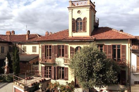 Villa Monferrato - Traumhafte Aussichten