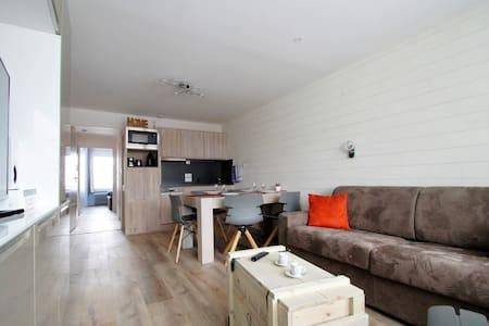 Appartement T2 + cabine 6 pers 3 étoiles Tignes