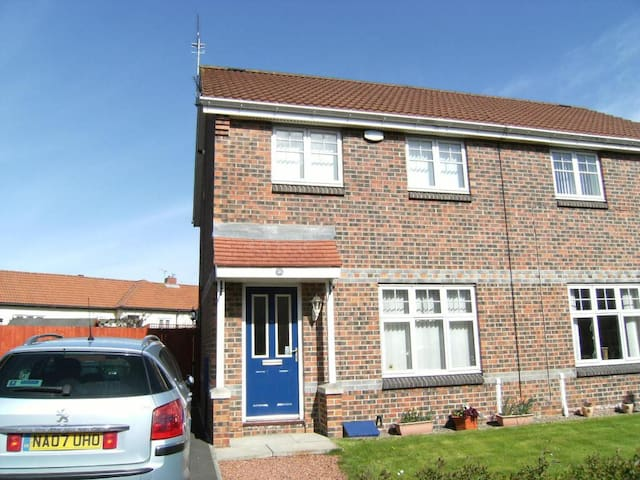 Entire home close to Tyne Tunnel - North Shields - Hus