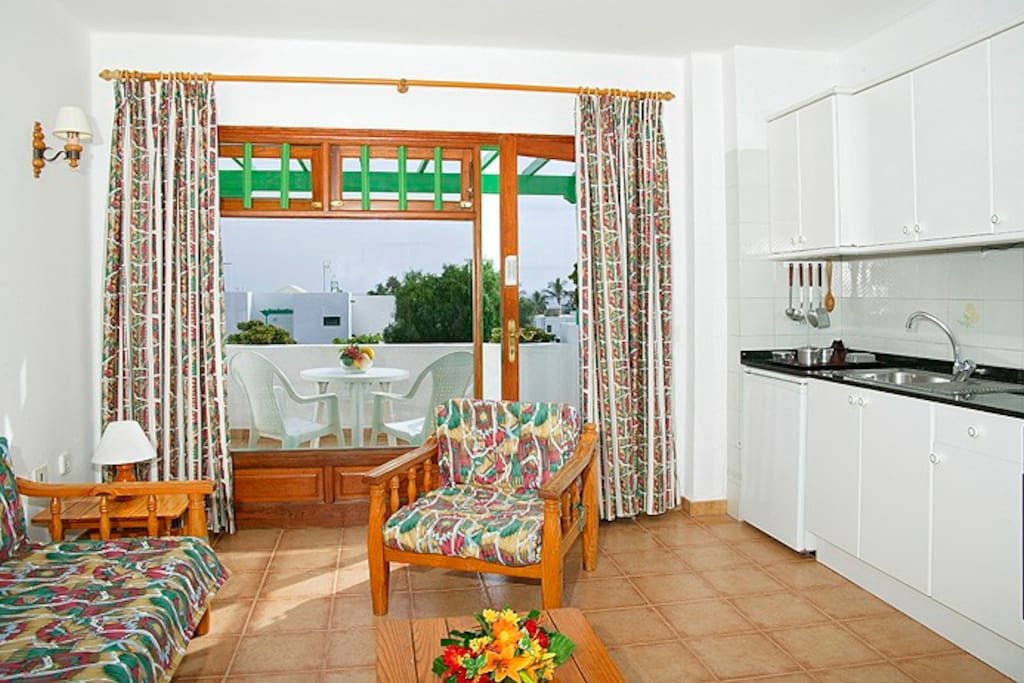Princesa Ico apartments have a fully fitted kitchen.