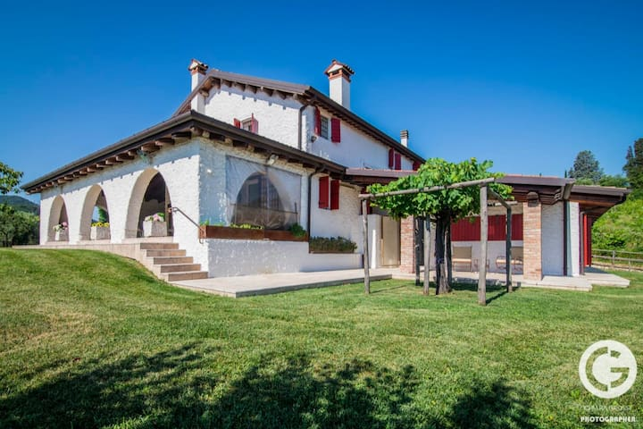 A charming villa in the Venetian vineyards