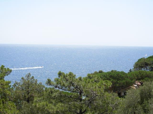 Petite maison face à la mer