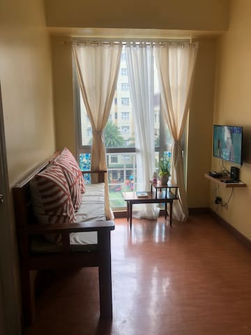 2BR fully furnished condo in Marikina wifi+netflix