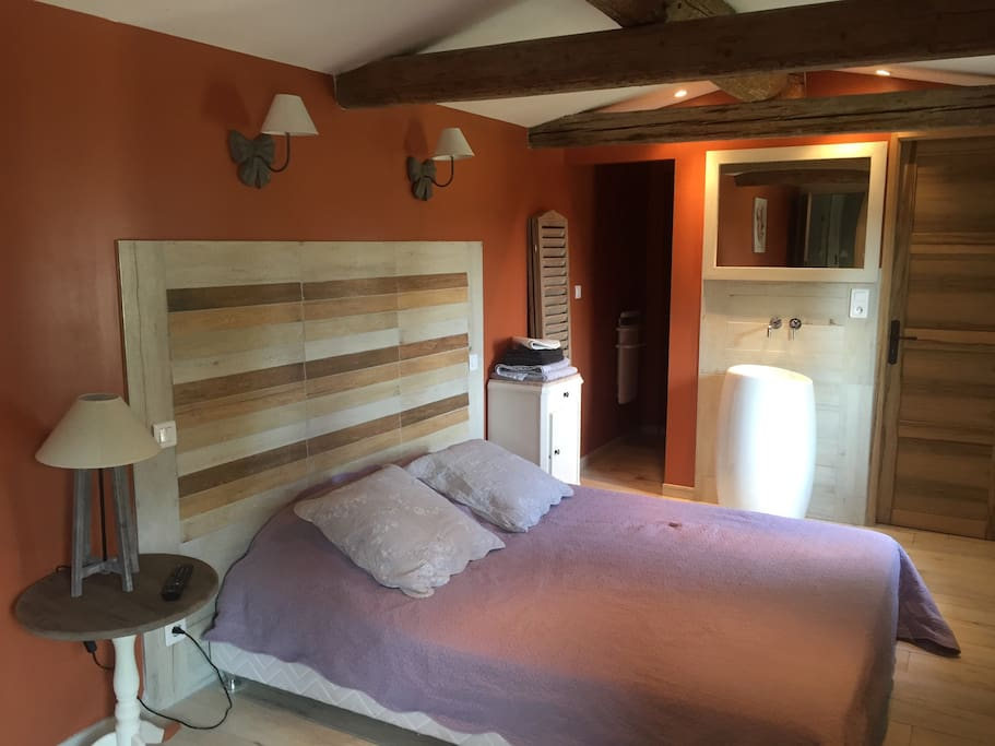 Mas guiraud chambre confort n 2 chambres d 39 h tes - Chambres d hotes languedoc roussillon ...