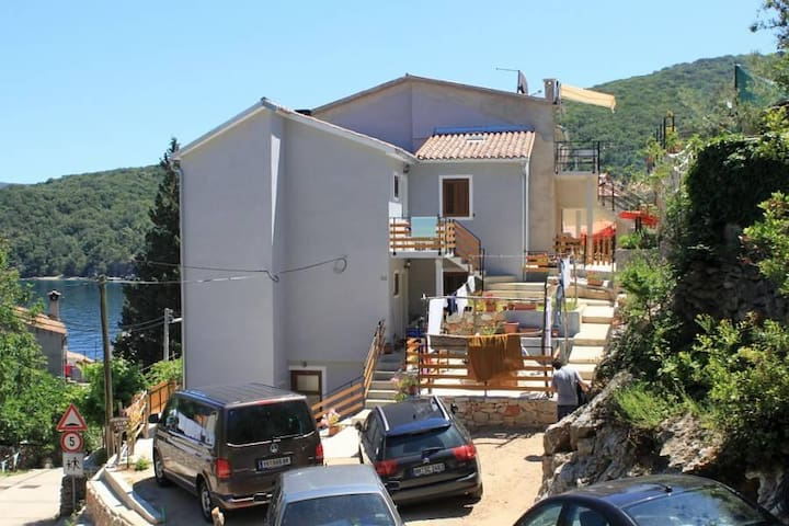 Studio flat with terrace and sea view Valun, Cres (AS-8081-a) - Valun