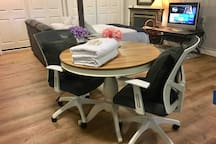 Dinning table for two people