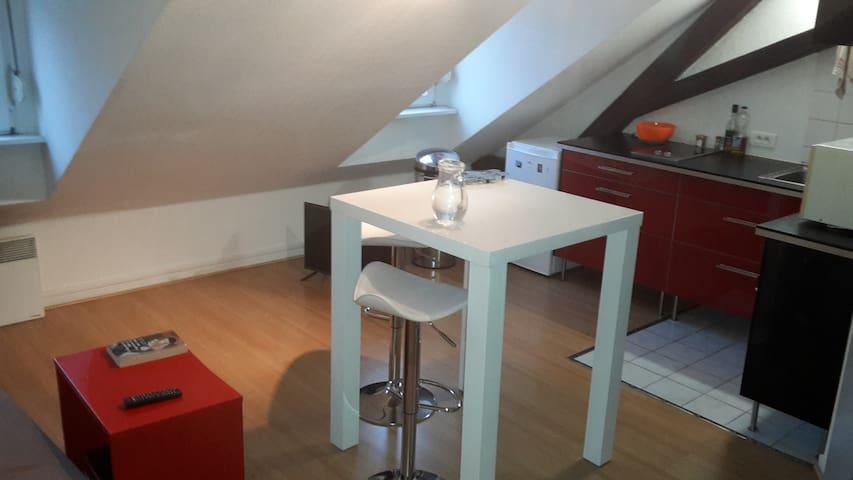 Studio+mezzanine romantique&moderne - Estrasburgo - Departamento