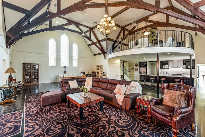 The Wesley - Stunning Renovated Church -