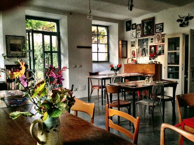 Cascina suggestiva e colazione vegan - Ponte Nizza - Bed & Breakfast