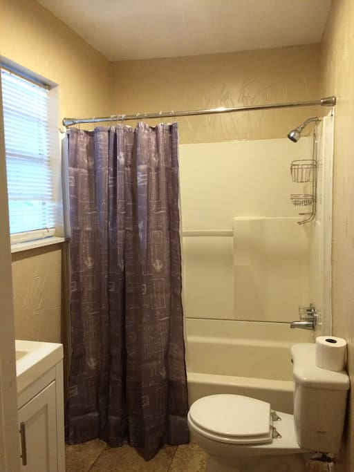 Shared bathroom/shower (1 of 2)