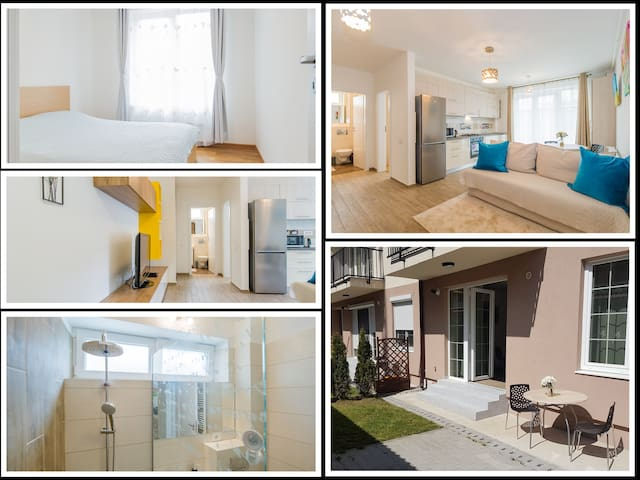 ★Modern, Central & Kids friendly★Terrace★WiFi