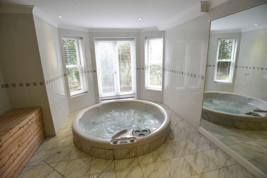 garden apartment with hot tub and sauna wohnungen zur miete in brighton england vereinigtes. Black Bedroom Furniture Sets. Home Design Ideas