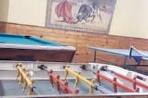 Area común -Sala de juegos