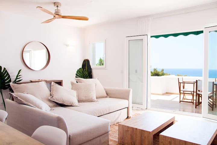 Apartamento con encanto y vistas al mar en Son Bou