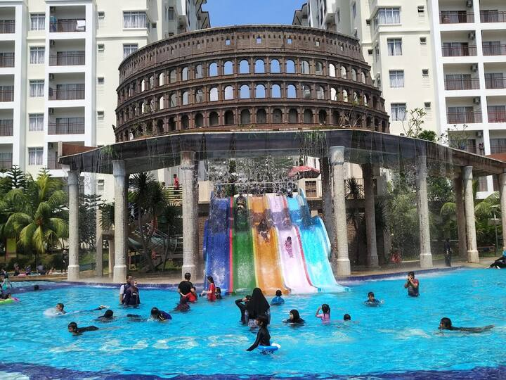 Bayou/B8-10/FreeWaterpark/SwimmingPool/Melaka/5Pax