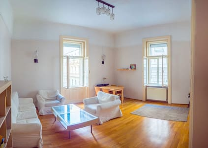 Lovely spacious apartment in the heart of Budapest - Appartement