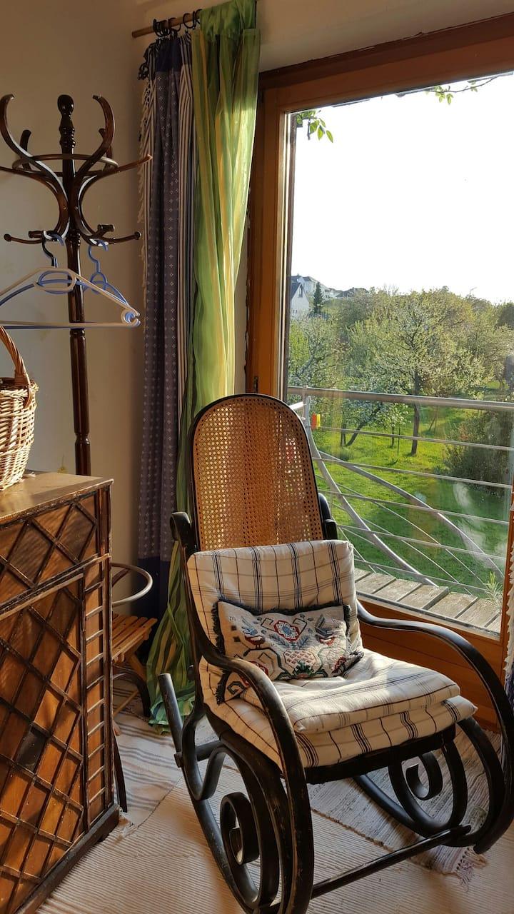 Privatzimmer auf dem Land bei Basel
