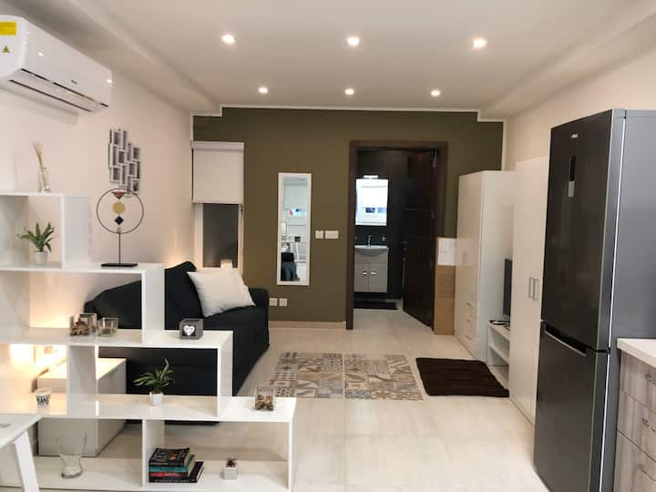 New Studio apartment modern in central Malta
