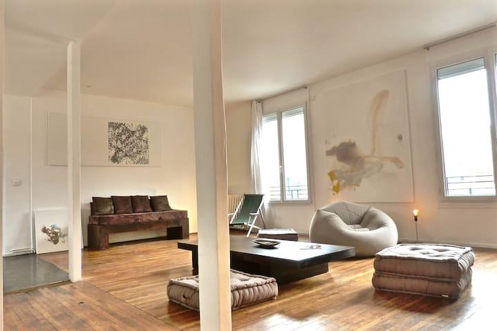CONTEMPORARY DESIGN APPT RIGHT OUTSIDE PARIS - Alfortville - Haus