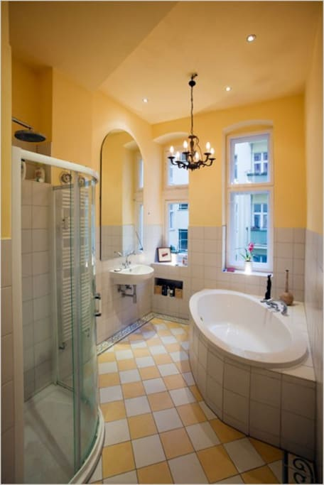 Bathroom (additional guest bathroom also available)