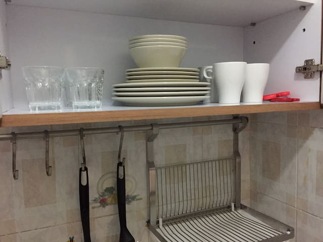 Fully Equipped Cooking Facilities