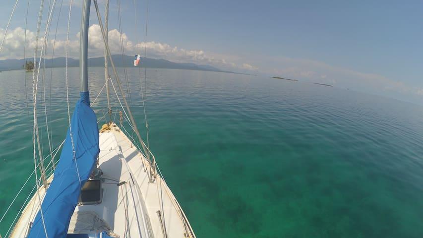San Blas Sailing - Sailing Desperado - El Porvenir - Båt