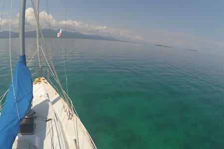 San Blas Sailing - Sailing Desperado - El Porvenir - Hajó