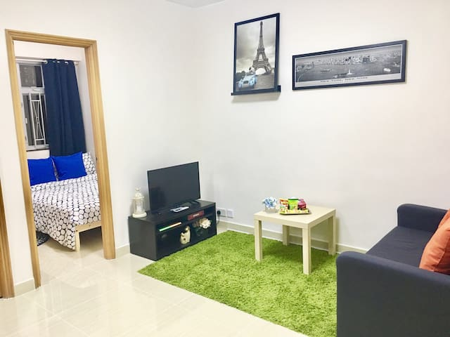 6 guest Cozy & New Deco apt in TST, 1min to metro - Hong Kong - Appartement