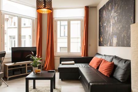 Classy flat @ center Antwerp+WiFi! - Antuérpia