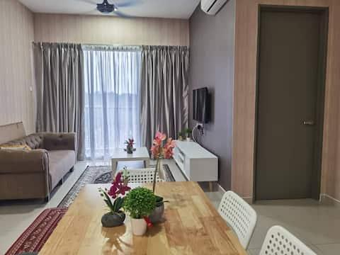 Family Apartment di Seksyen 15, Bangi Gateway.