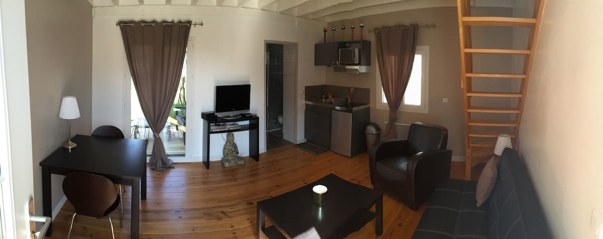 Appartement Cosy T2 Tresses