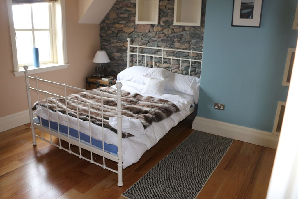 This bedroom has a double bed, own sitting room and ensuite