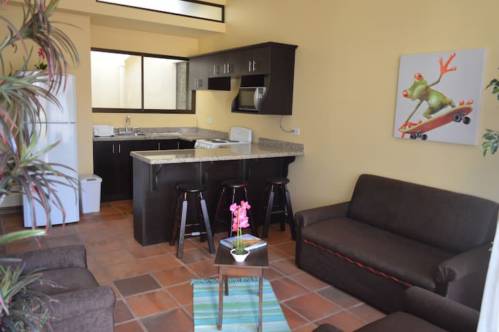 New, light airy, 2-bed apt w/ Roof Terrace (Apt 6)