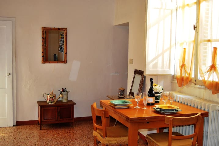 Very quite apartment in the historical center