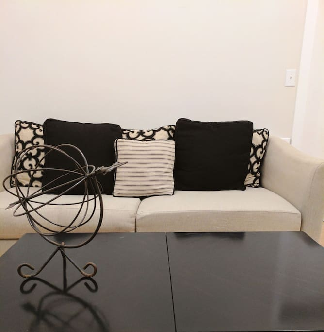 Your couch in shared room